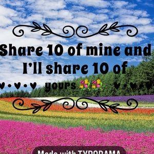 Share 10 I'll share 10